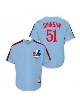 MAJESTIC MONTREAL EXPOS COOP JOHNSON