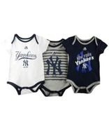 MAJESTIC BODYSUITS YANKEES