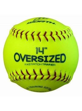 WORTH Oversized Pitcher's Training Softball 14""
