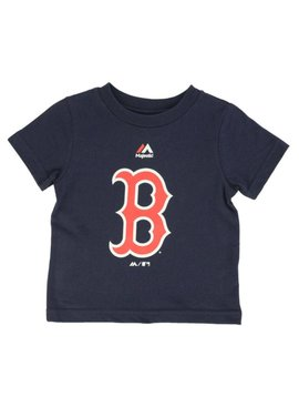 MAJESTIC BOSTON RED SOX T-SHIRT 4 A 7 ANS LARGE