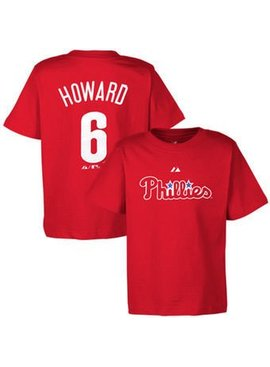 MAJESTIC T-SHIRT HOWARD PHILADELPHIA PHILLIES