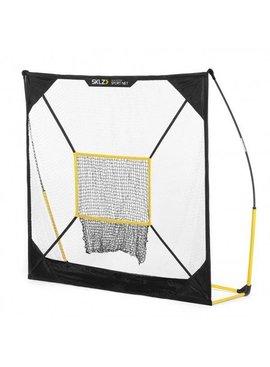 SKLZ Quickster - 7'x7' Net with Baseball Target (B)