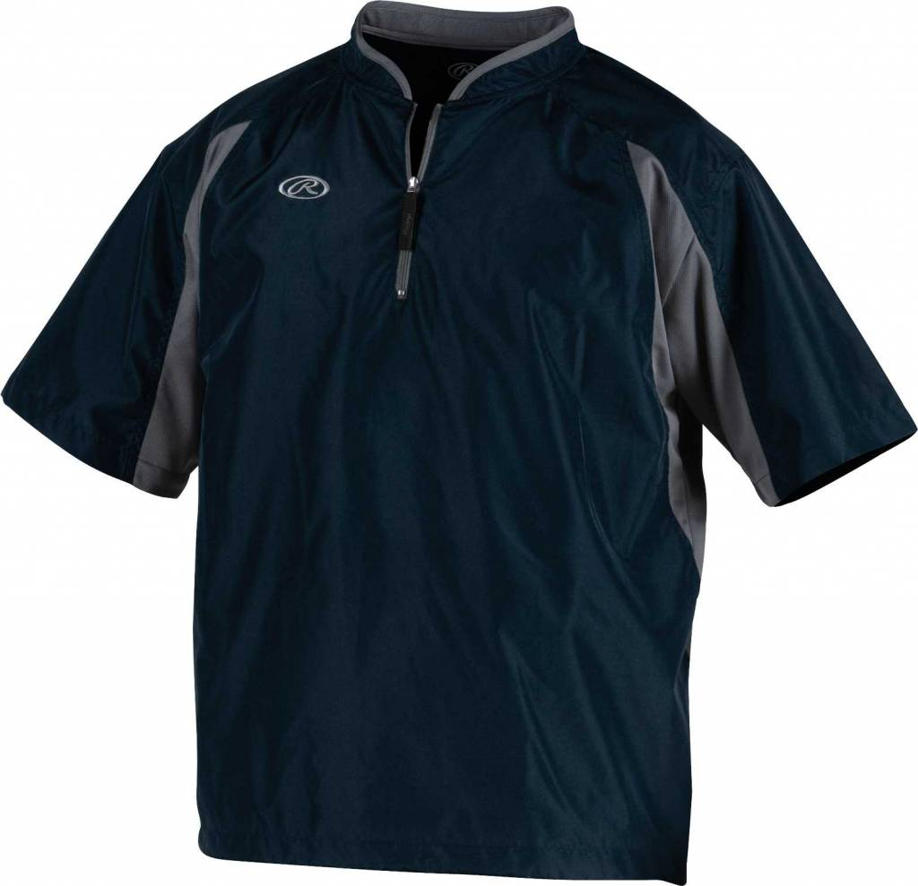 Rawlings Toccj Men S Short Sleeve Cage Jacket Baseball Town