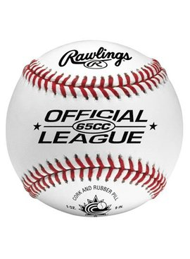 RAWLINGS 65CC Baseball Ball (UN)