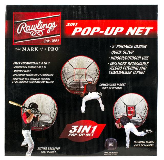 RAWLINGS 3 IN 1 NET