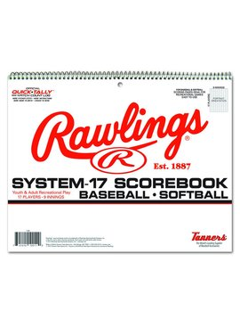 RAWLINGS Scorebook rawlings