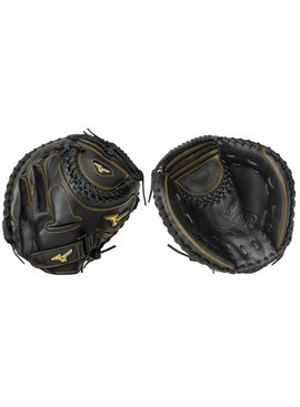 "MIZUNO GXS50PF2 Mvp Prime SE Black 34"" Catchers Fastpitch Glove"