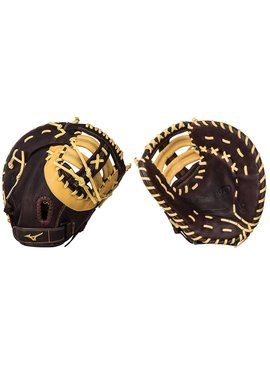 "MIZUNO GXF90B2 Brown 12.5"" Firstbase Baseball Glove"