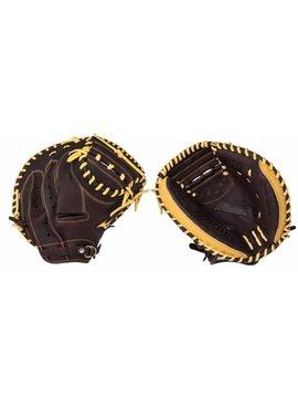 "MIZUNO GXC90B2 Franchise Coffee/Silver 33.5"" Catcher's Glove"