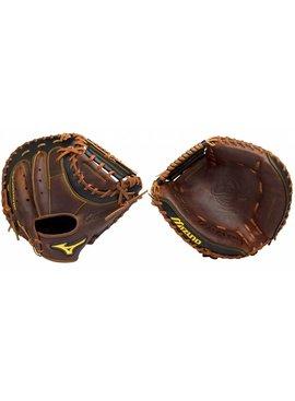 "MIZUNO GXC28S2 Classic Pro Soft Brown 33.5"" Catcher's Baseball Glove"