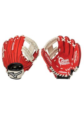 "MIZUNO GPP1000Y2 Prospect Red 10"" Youth Baseball Glove"