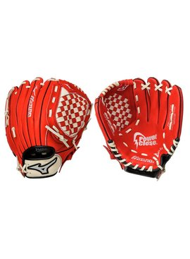 "MIZUNO GPP1150Y2 Prospect Red 11.5"" Youth Baseball Glove"