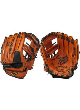 "MIZUNO GPL1100Y2 Prospect Leather Brown 11"" Youth Baseball Glove"