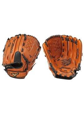 "MIZUNO GPL1150Y2 Prospect Leather Peanut 11.5"" Youth Baseball Glove"