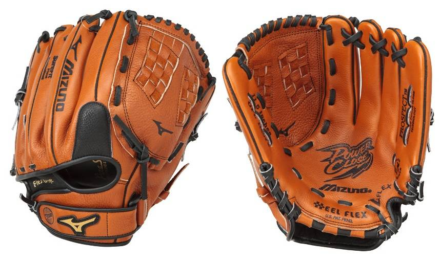 Youth Baseball Glove Leather : Mizuno gpl y prospect leather peanut quot youth