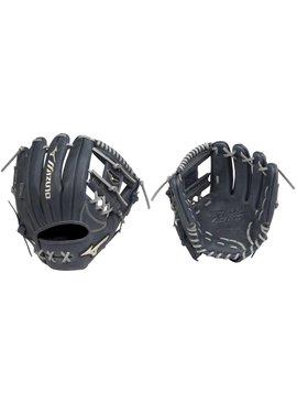 "MIZUNO GGE51AXNY Global Elite Navy 11.75"" Baseball Glove"