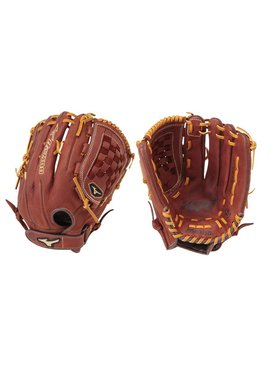 "MIZUNO GMVP1400S2 Mvp Brown 14"" Slowpitch Glove"