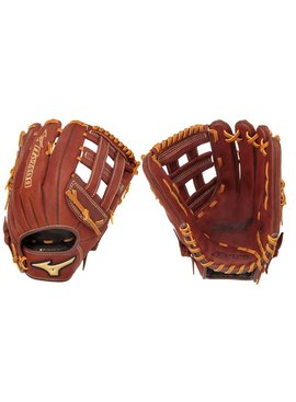 "MIZUNO GMVP1300S2 Mvp Brown 13"" Slowpitch Glove"