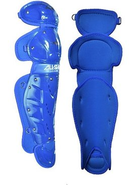 ALL STAR 9 TO 12 PLAYER'S LEG GUARD ROYAL 13""