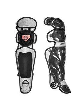 ALL STAR PRO LEG GUARD BLACK 16.5""