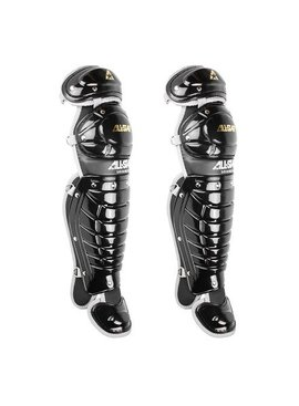 ALL STAR 12 TO 16 LEAGUE SERIES LEG GUARD BLACK 14.5 ""
