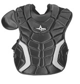 """ALL STAR 9 TO 12 PLAYER'S SERIES CHEST PROTECTOR BLACK 14.5"""""""