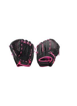 "EASTON ZFXFP1150BKPK Z-Flex 11.5"" Fastpitch Glove"