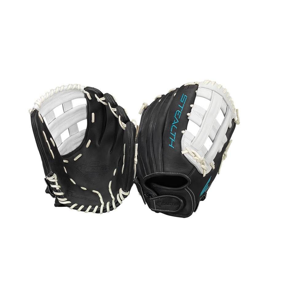 "EASTON STFP1275BKWH Stealth Pro 12.75"" Fastpitch Glove"