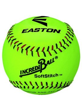 "EASTON 11"" Softstitch Neon Training Ball"