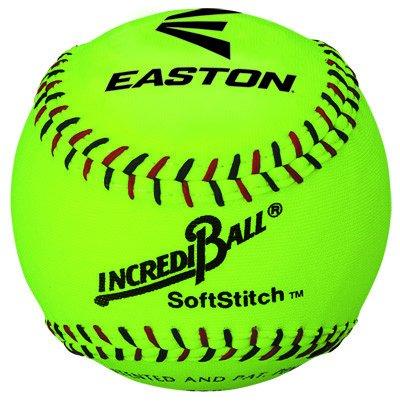 "EASTON 11"" Softstitch Neon Training Ball"
