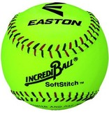 "EASTON 12"" Softstitch Neon Training Ball"
