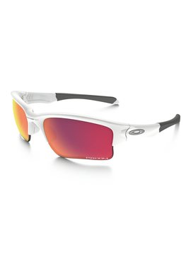 OAKLEY Quarter Jacket Polished White w/ Prizm Baseball Outfield