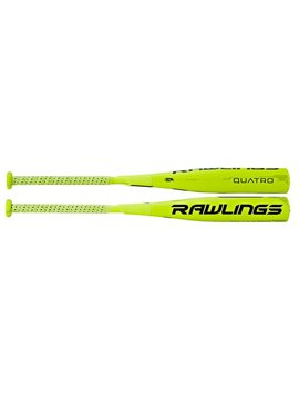 RAWLINGS SL7Q10 Quatro Senior League -10 Baseball Bat