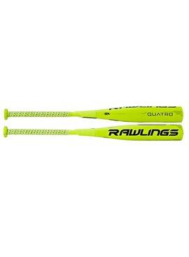 RAWLINGS SL7Q10 Quatro Youth -10 Baseball Bat