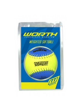 WORTH Weighted Training Softball 12""