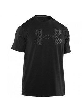 UNDER ARMOUR LineLogo Big Logo T-Shirt Black Small