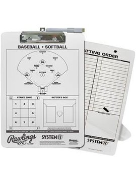 RAWLINGS Baseball Coach's Clipboard