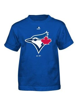 OUTERSTUFF Toronto blue jays team logo youth tee
