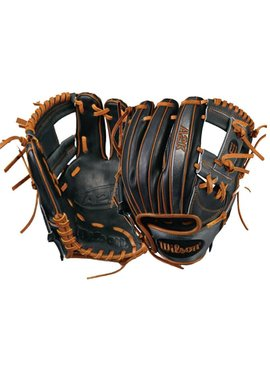 "WILSON-DEMARINI A2K Dustin Pedroia Game Model 11.5"" Baseball Glove"