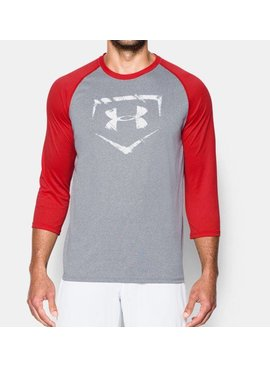 UNDER ARMOUR Baseball 3/4 Sleeve Men's Shirt