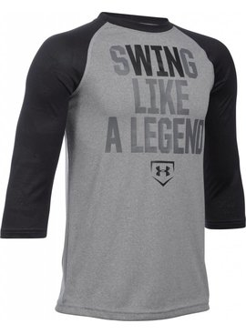 UNDER ARMOUR Swing Like A Legend Youth Long Sleeve Shirt