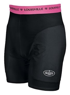 LOUISVILLE BRONZE SHIELD WOMEN SLIDING SHORT