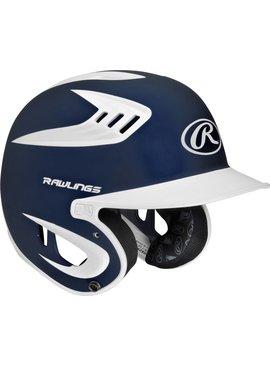 RAWLINGS S80X2S Adult Batting Helmet Matte