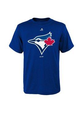 OUTERSTUFF Toronto blue jays team logo kids tee