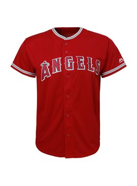 OUTERSTUFF Los Angeles Angels Youth Replica Jersey