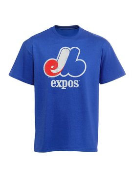MAJESTIC Expos Cooperstown Official Logo Shirt