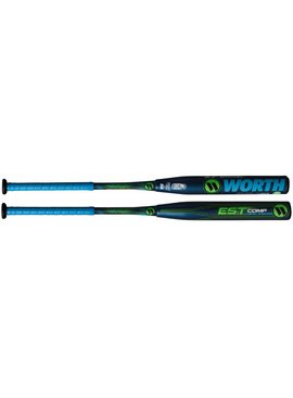 "WORTH EST Comp 12.5"" balanced softball bat"