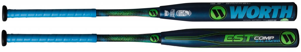 "WORTH Worth EST Comp 12.5"" Balanced USSSA Softball Bat"