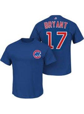 MAJESTIC Kris Bryant 17 T-Shirt