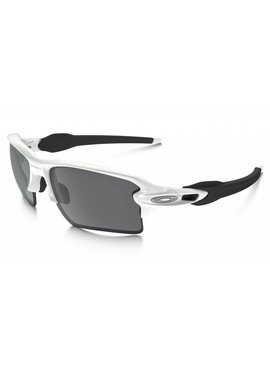 OAKLEY Flak 2.0 XL Polished White w/ Black Iridium